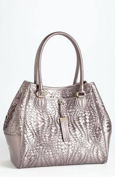 Cole Haan 'Optical Weave' Triangle Tote available at #Nordstrom