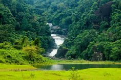 Vodopád v Sylhet