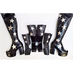 aaf6c8127bb STARDUST Star Boots   Gaiters in Leather and Vegan Leather by Isabella Mars