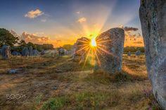 L'alignement de Kermario by Vincent_Zenon. Please Like http://fb.me/go4photos and Follow @go4fotos Thank You. :-)