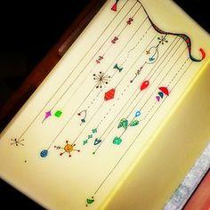 Zen dangles in my midori travelers notebook
