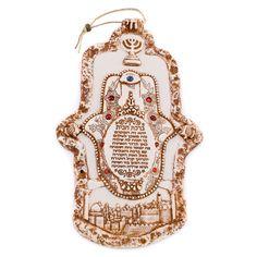 Jerusalem Stone- Jerusalem Hamsa Rose Necklace, Star Necklace, Necklace Set, Star Of David, Hamsa Hand, Jerusalem, Jewelry Gifts, Opal, Stone