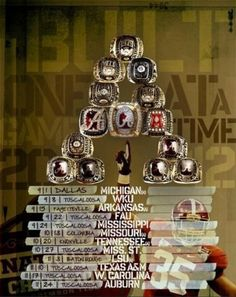 University of Alabama Official Poster for the 2012 Football Season - Are you ready for some Football??? Roll Tide Roll!!!