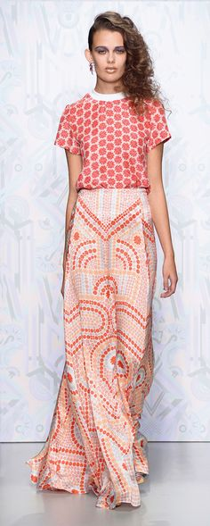 London Fashion Week September 2013 - Holly Fulton Spring/Summer 2014