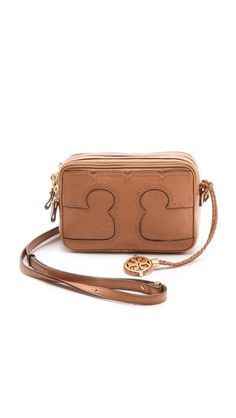 This would be a perfect camera bag~~Tory Burch Amalie Adjustable Mini Bag