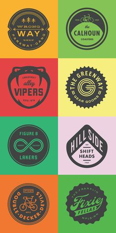 Here's a gorgeous collection of retro/vintage-style logos and badges by Minneapolis-based graphic designer Allan Peters. Typography Logo, Graphic Design Typography, Graphic Design Illustration, Logo Desing, Brand Identity Design, Branding Design, Design Logos, Menu Design, Logos Retro