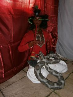 Snake Charmer... I like this one! Lots of other ideas too