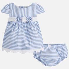 66b1ba67d01b Dievčenské pásikavé šaty s nohavičkami Mayoral - Ocean Šaty Pre Dievčatká