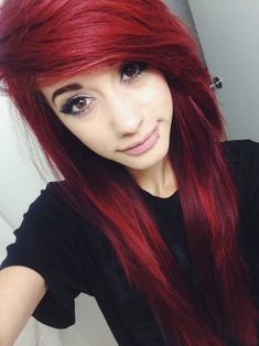 perfect red hair style