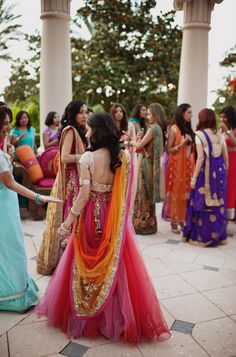 best part about desi parties? colors everywhere