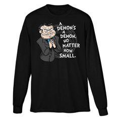 A Demon's A Demon - Long Sleeve T-Shirt (Unisex)