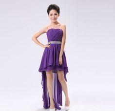 ver vestidos de moda para fiestas con cola