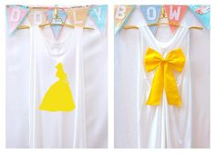 Belle Beauty and the beast Disney Princess Tank by DollysBow