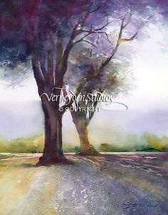 """Calapooia Shadows"" - Painting by Beth Verheyden"