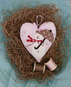 From Bunny Hill Designs, Snow Happy Hearts for April