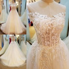 AHW016 New Arrival Sample Tulle Strapless Train Sexy Wedding Dresses with Appliques 2017