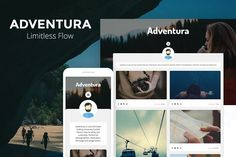 Adventura - Showcase Tumblr Theme by CubThemes on @creativemarket