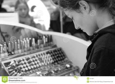 Buying Makeup Royalty Free Stock Photography - Image: 151567