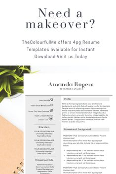 Resume Templates Professional Resume Templates  Student Career