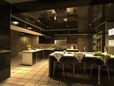 Conception d'une cuisine pour un particulier à Lyon (69)