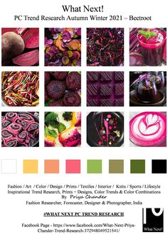 Fashion Prints, Fashion Art, Fashion Styles, Fashion Design, Color Trends, Design Trends, Pantone 2020, Fashion Forecasting, Beetroot