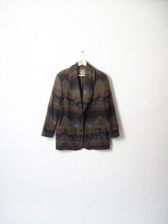 Men's Woodsy Reindeer Sweater Coat