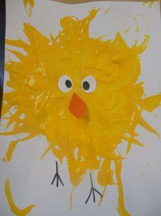 schilderen met pluimen