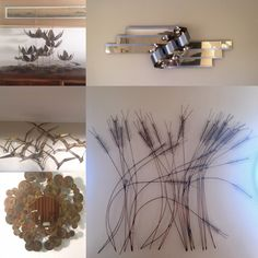 a few more curtis jere sculptures available large wheat sheaf wall sculpture classic small