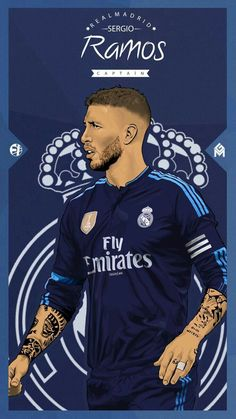 Sergio Ramos Football Is Life, Real Madrid Football Club, Real Madrid Players, Sergio Ramos, Fifa Football, Football Art, Dani Ceballos, Gareth Bale, Soccer Pictures