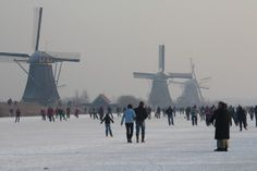 winter in Nederland