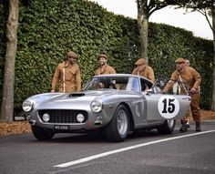 Classic Driver is the leading international market and magazine for classic & collector cars and a sophisticated lifestyle. Classic Motors, Classic Cars, Goodwood Revival, Vintage Cars, Vintage Auto, Summer Days, Cool Cars, Super Cars, Ferrari