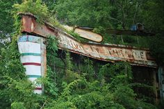 Abandoned Drive-In Theatre by Noss4ra2, via Flickr