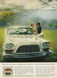 1958 Chrysler 300-D Ad