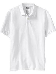 $13.50 Men's Cotton-Pique Polos | Old Navy