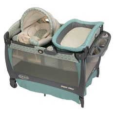Graco Pack n Play Playard with Cuddle Cove Rocking Seat - Winslet