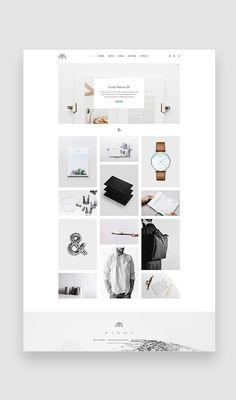 concept, design, elegant, gallery, grid, illustration, masonry, modular, photography, portfolio, product, shop, showcase, videography