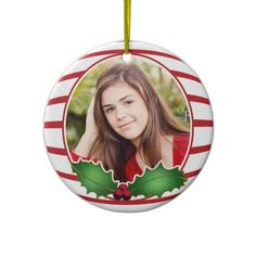 Photo Circle Ornament