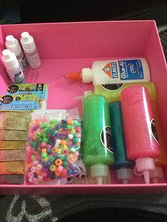 Slime Box, Diy Slime, How You Make Slime, Homemade Christmas, Diy Christmas Gifts, Perfect Slime, Slime Shops, Glitter Slime, Bff Gifts