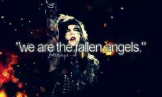"""Fallen Angels - Black Veil Brides HOW the hell is this one of those """"Justgirlythings""""??? BVB army member typically aren't too girly..."""