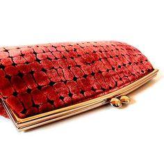 VINTAGE Velour clutch bag  http://dormitorica.com/?pid=96095683