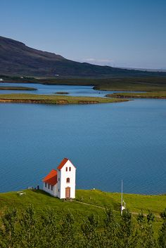 The church at Úlfljótsvatn, Iceland