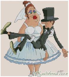 Свадьба. Всё в твоих руках - Свадьба - Любовь - Схемы в XSD - Кладовочка схем - вышивка крестиком