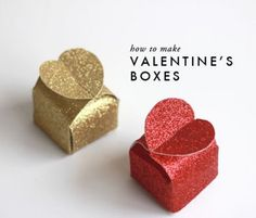 Make Your Very Own Valentines Gift Boxes