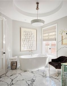 Beautiful and elegant bathroom design. #interior #style