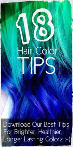 If you want your hair looking as good as is did the day that you first dyed it, then you'll love the tips in this post.