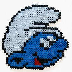 Smurf Perler Bead Pattern