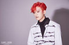 "[Star cast] of BtoB Minhyuk back with a new look ""NEW MEN"" behind jacket shoot! Naver Entertainment: TV"