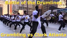 Chicago Football Classic Pep Rally featuring the Grambling State University Drumline Chocolate Thunder vs Clark Atlanta University Drumline Stick Phi.