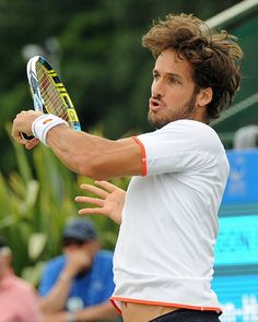 Feliciano Lopez (ESP) Third Round AEGON Open Nottingham ATP Copyright B&O Press photo