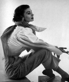 Suzy Parker for Vogue Paris, 1952